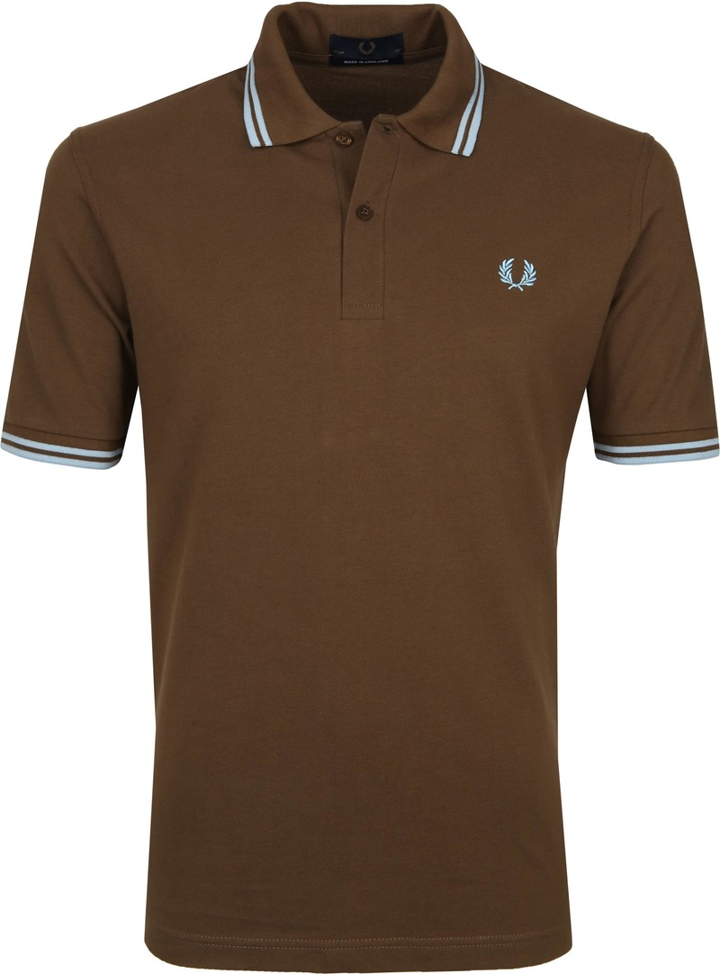 Fred Perry Polo M12 Bruin foto 0