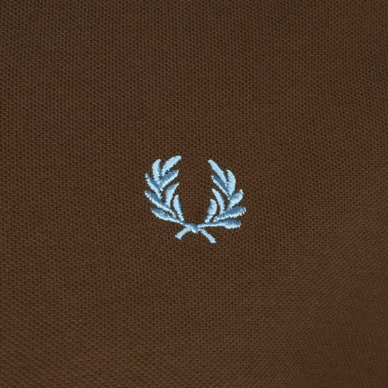 Fred Perry Polo M12 Bruin foto 2