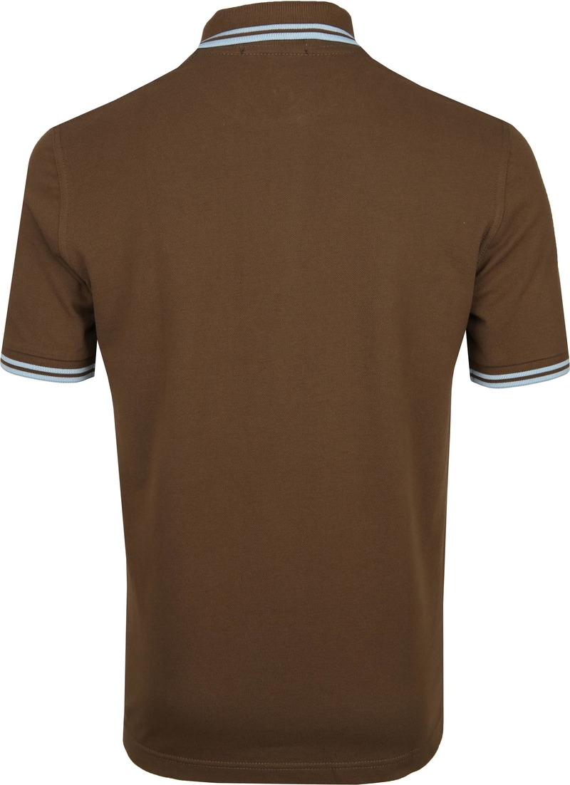 Fred Perry Polo M12 Bruin foto 3