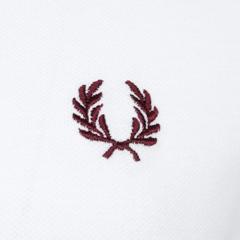 Fred Perry Polo M12 Wit foto 2