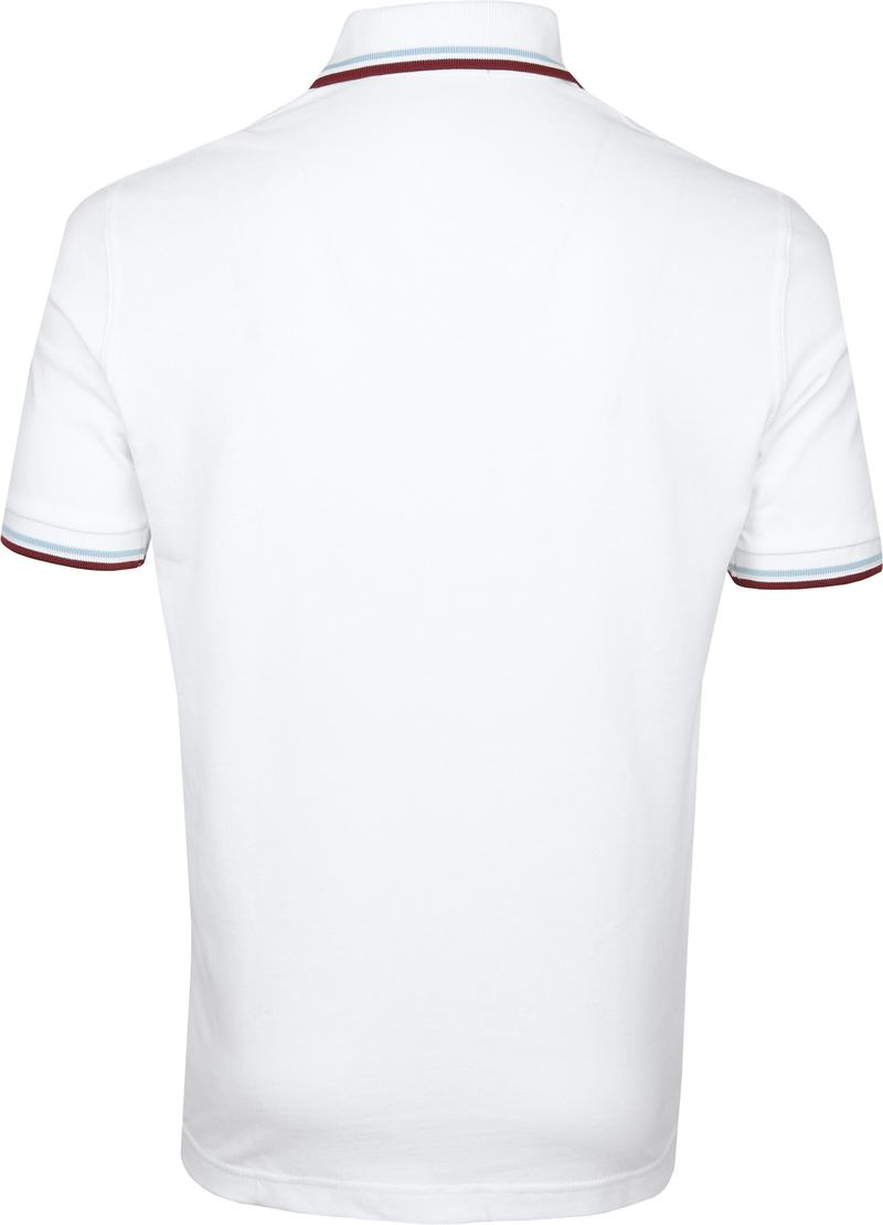 Fred Perry Polo M12 Wit foto 3