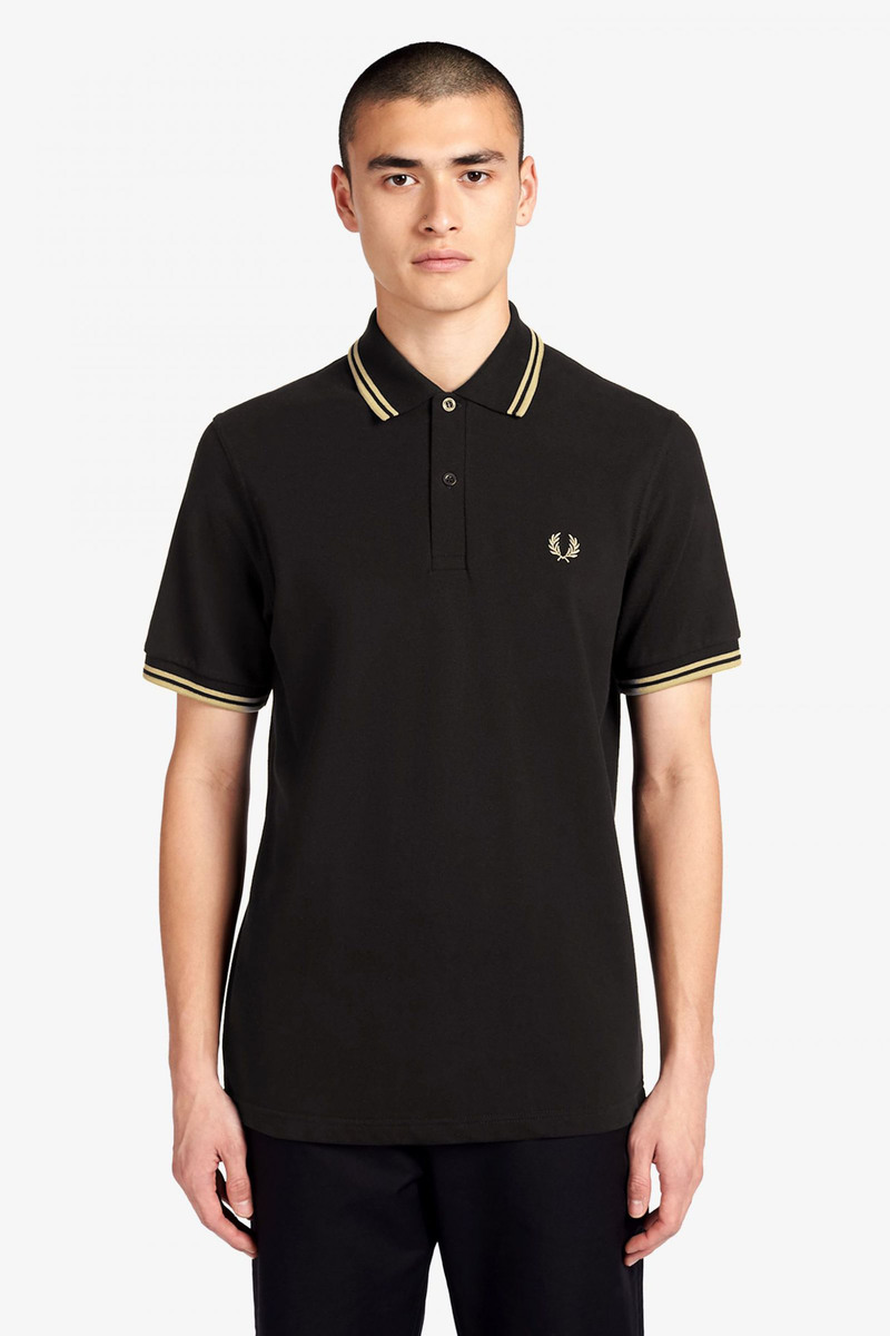Fred Perry Polo M12 Zwart