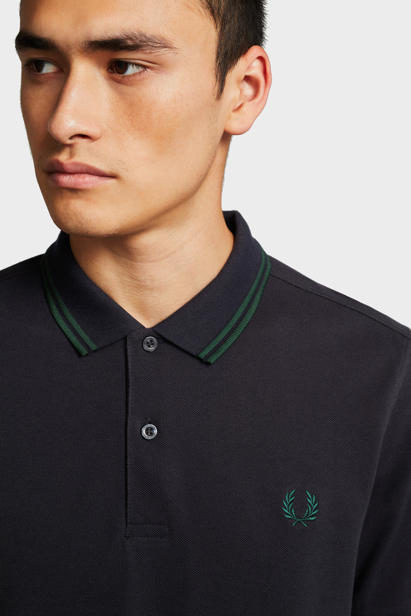 Fred Perry Polo Navy foto 4