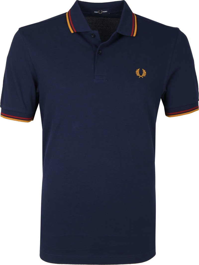 Fred Perry Polo Navy L46 foto 0