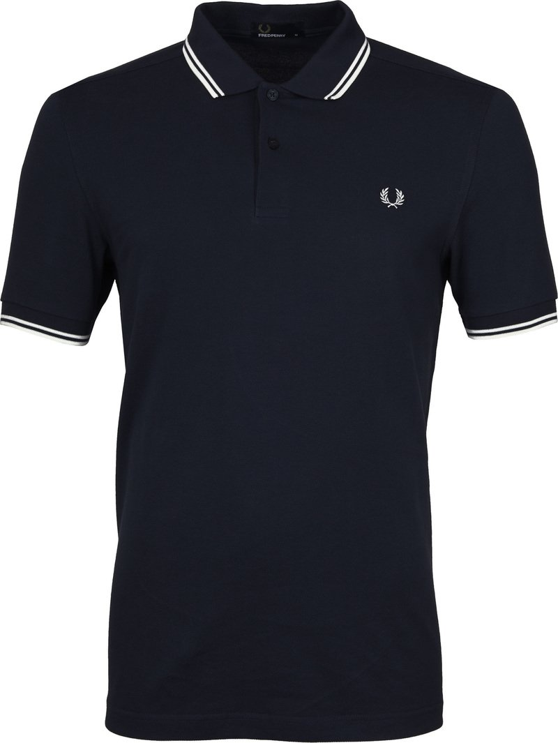 Fred Perry Polo Navy White foto 0