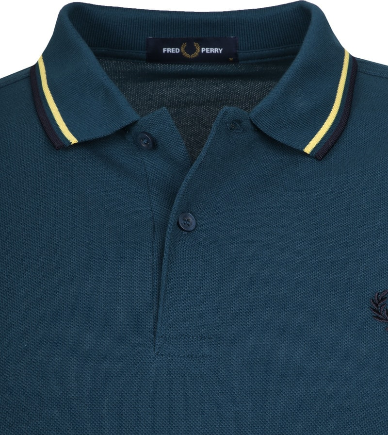 Fred Perry Polo Petrol K87 foto 1