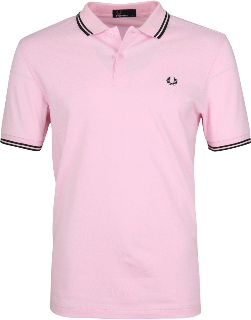Fred Perry Polo Roze 336 foto 0