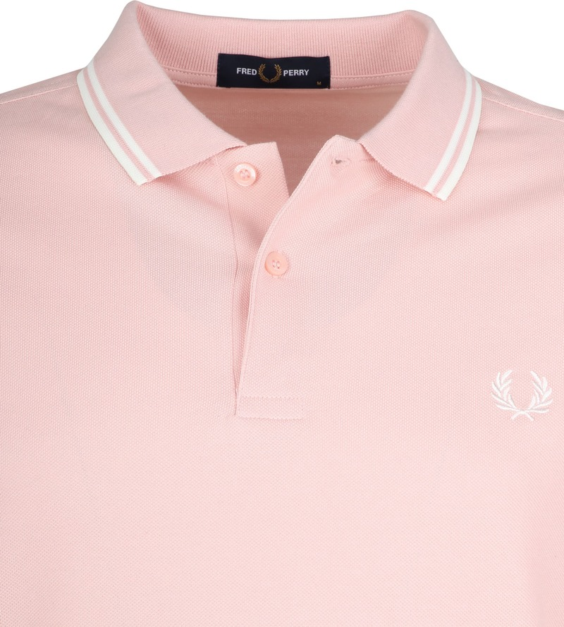 Fred Perry Polo Roze K23 foto 1
