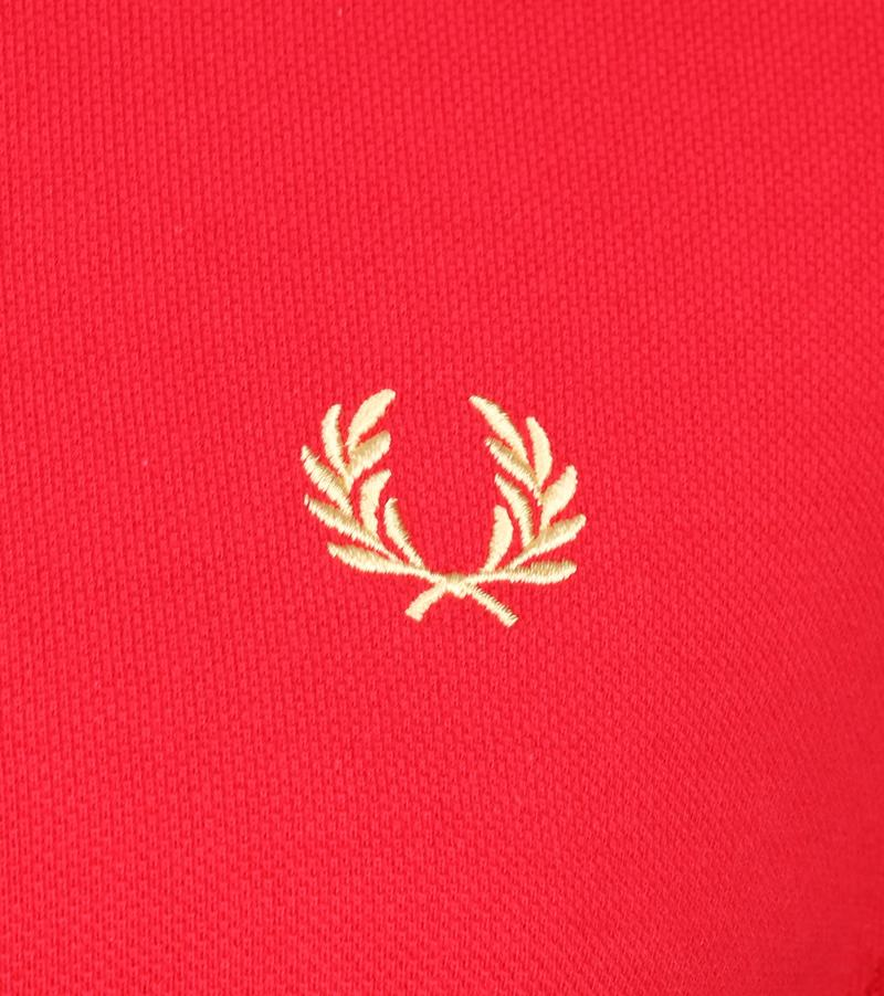 Fred Perry Polo Shirt Red J95