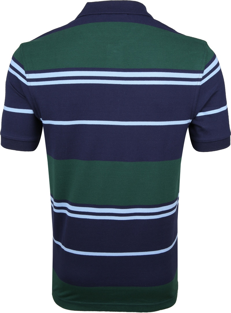Fred Perry Polo Strepen Blauw