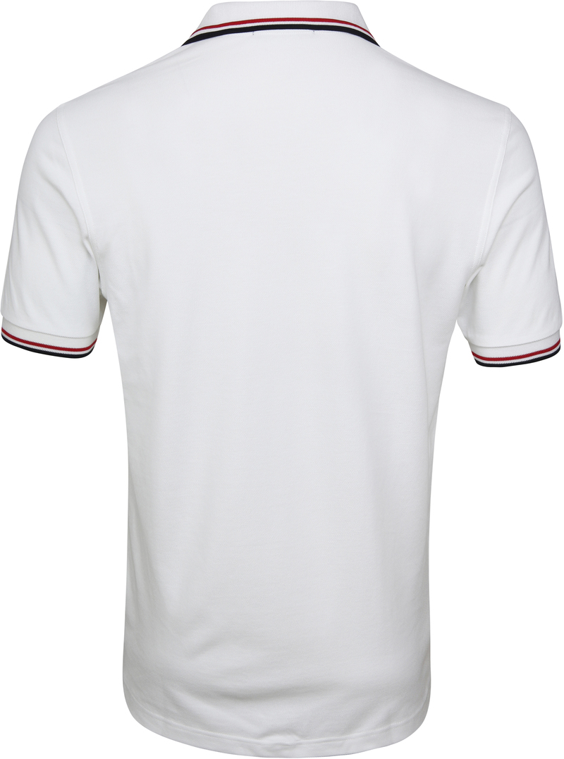 Fred Perry Polo Weiß 748 Foto 3