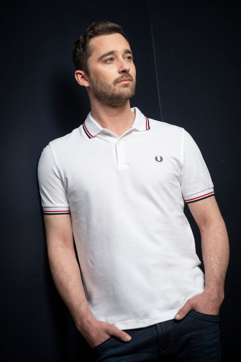 Fred Perry Polo Weiß 748 Foto 4