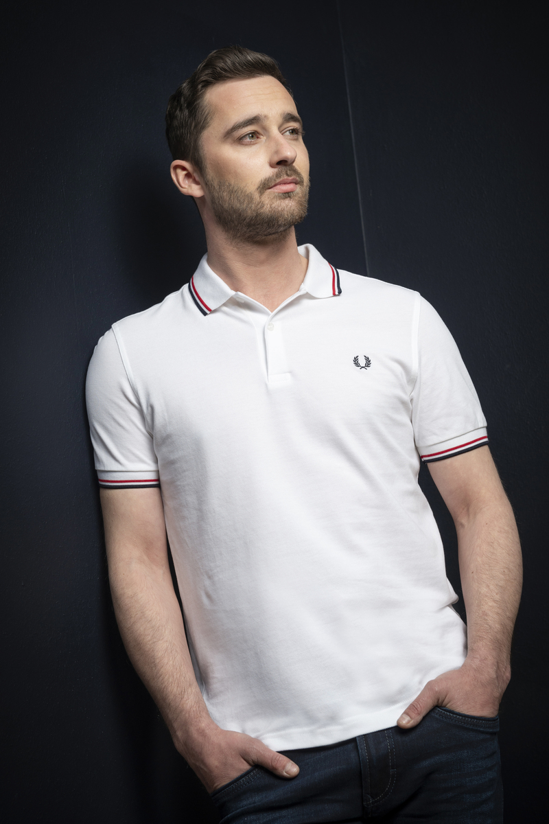 Fred Perry Polo Wit 748 foto 4