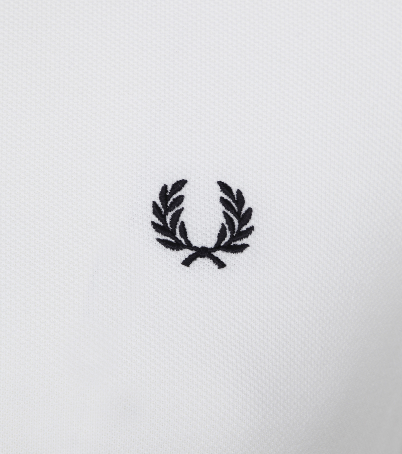 Fred Perry Polo Wit 748 foto 1