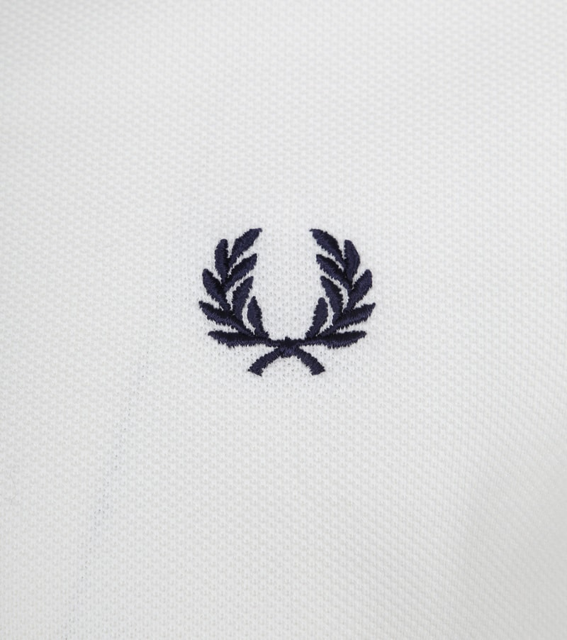 Fred Perry Polo Wit I01 foto 1