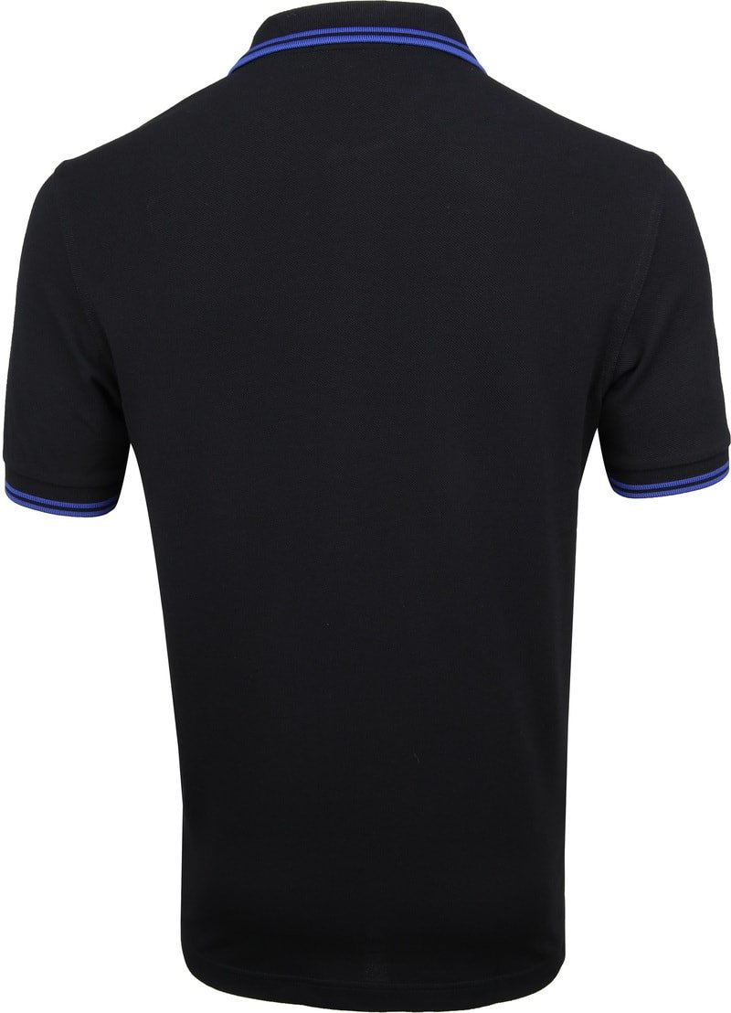 Fred Perry Polo Zwart foto 3