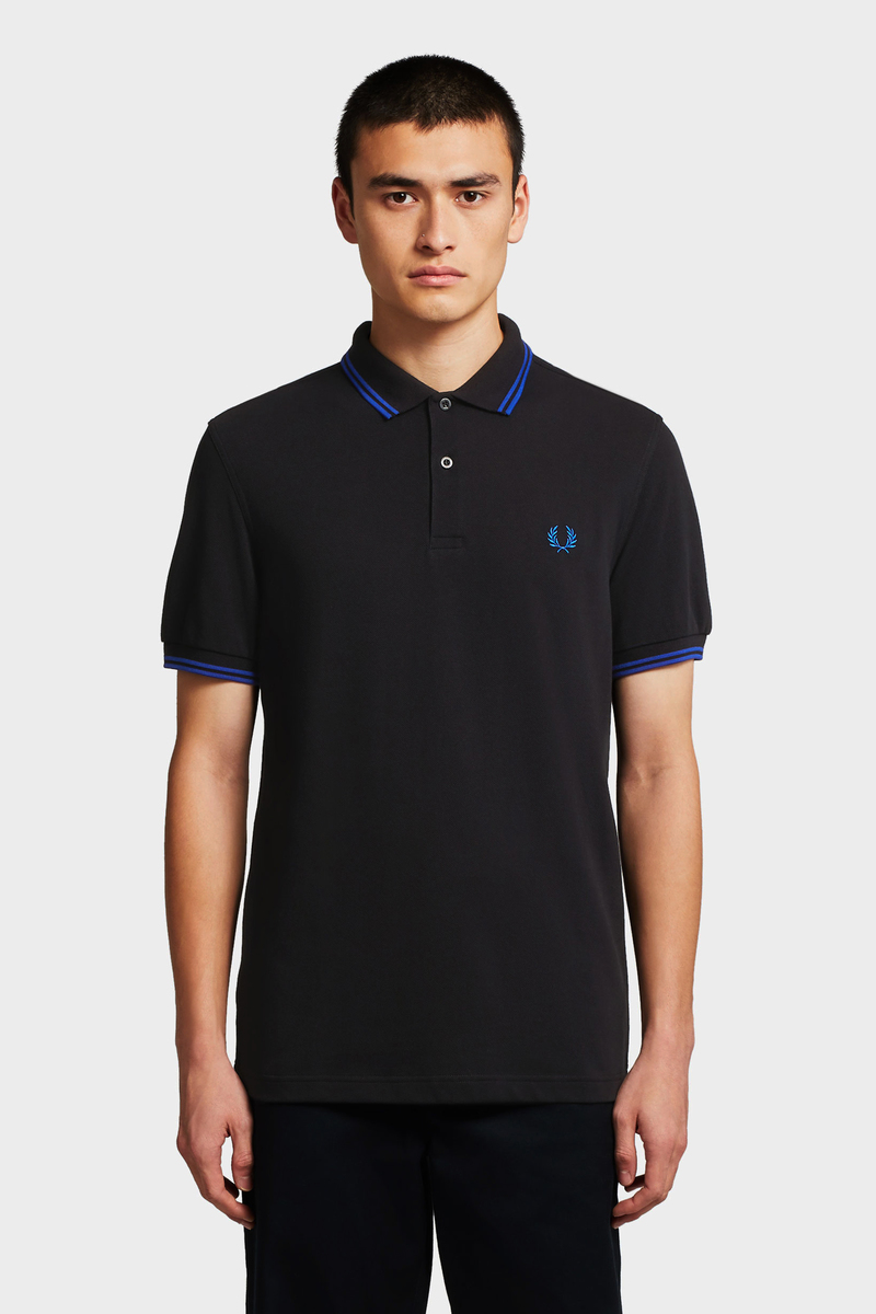 Fred Perry Polo Zwart foto 4