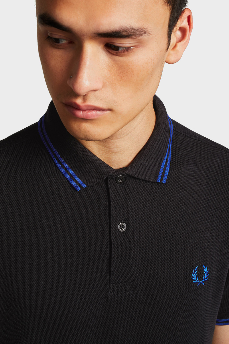 Fred Perry Polo Zwart foto 5