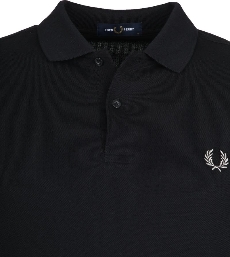 Fred Perry Polo Zwart 906 foto 1