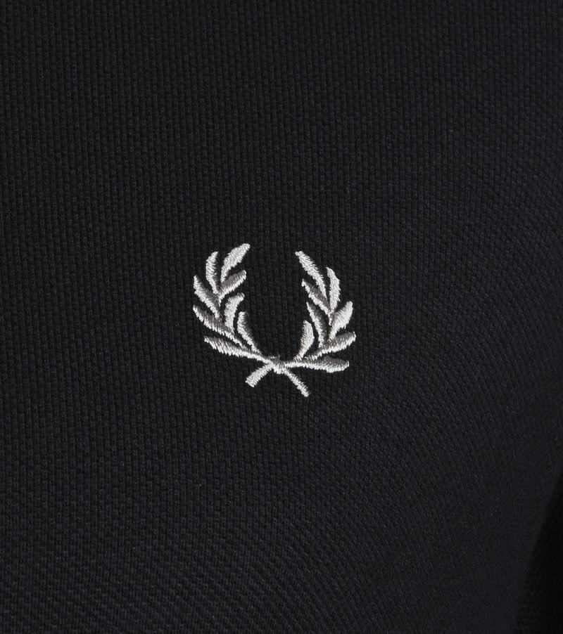 Fred Perry Polo Zwart 906 foto 2
