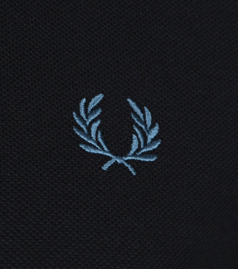 Fred Perry Polo Zwart L55 foto 2