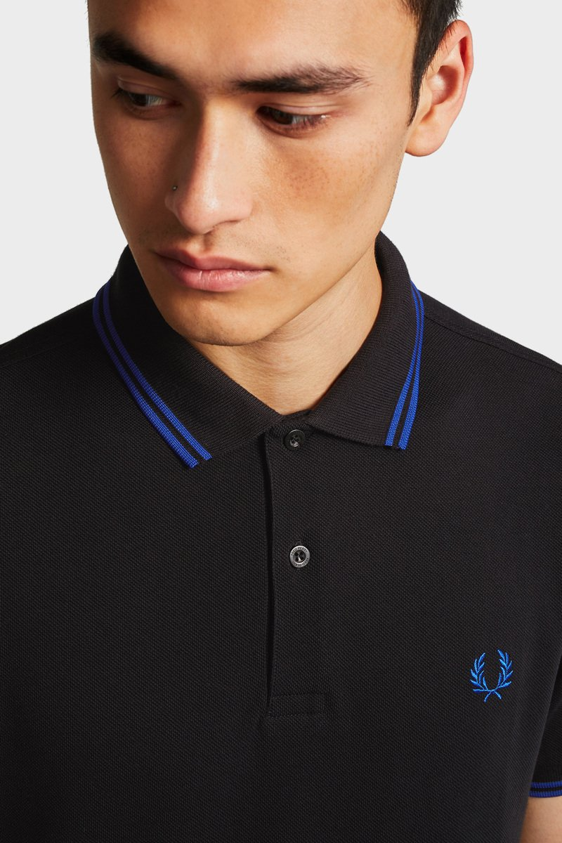 Fred Perry Poloshirt Black photo 5
