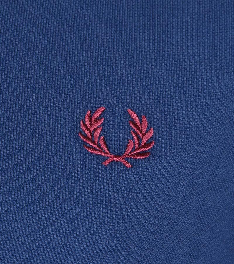Fred Perry Poloshirt Blau 588 Foto 2