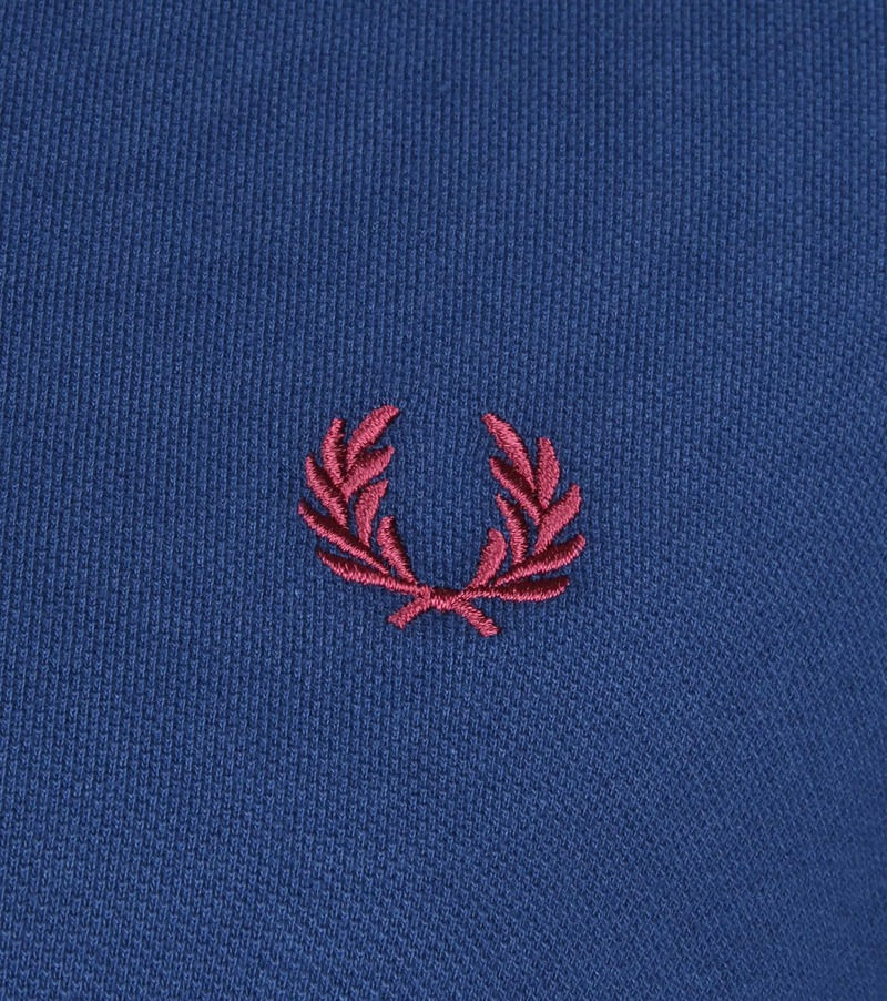 Fred Perry Poloshirt Blue 588 photo 2