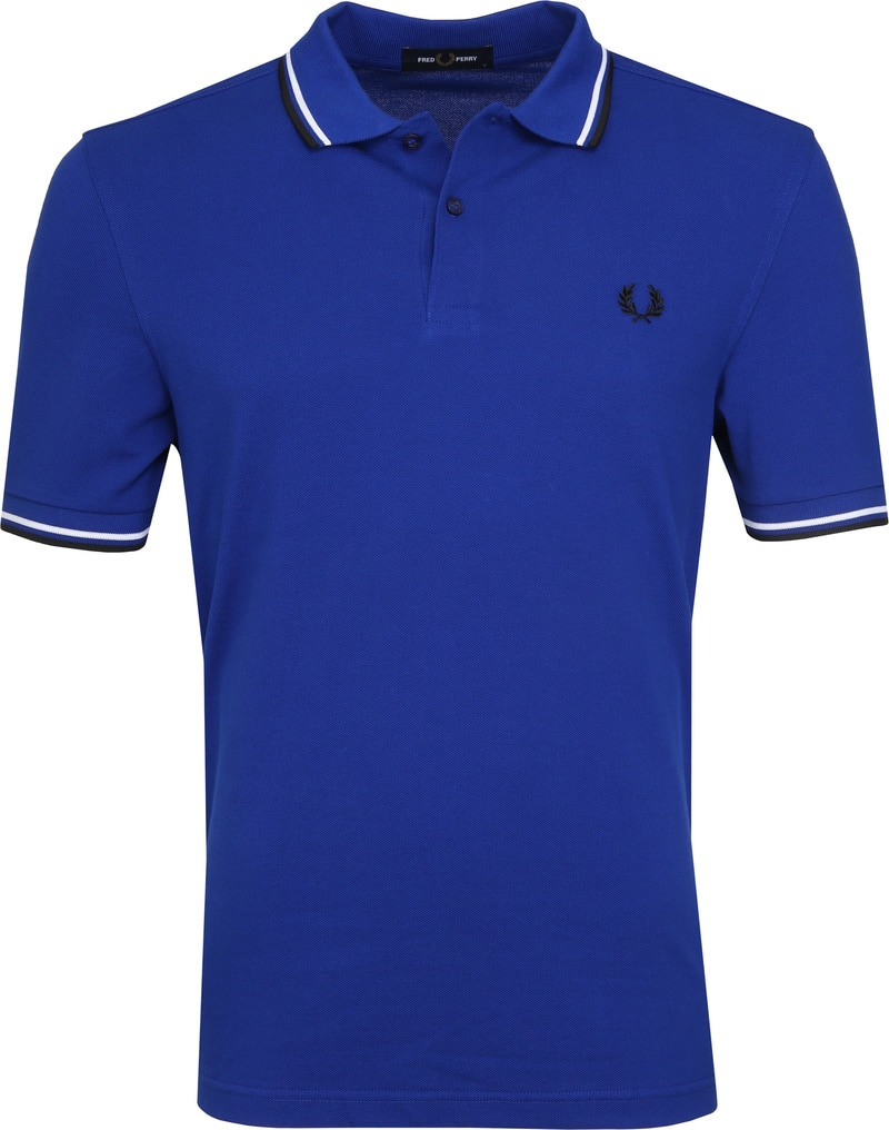 Fred Perry Poloshirt Blue I88 photo 0