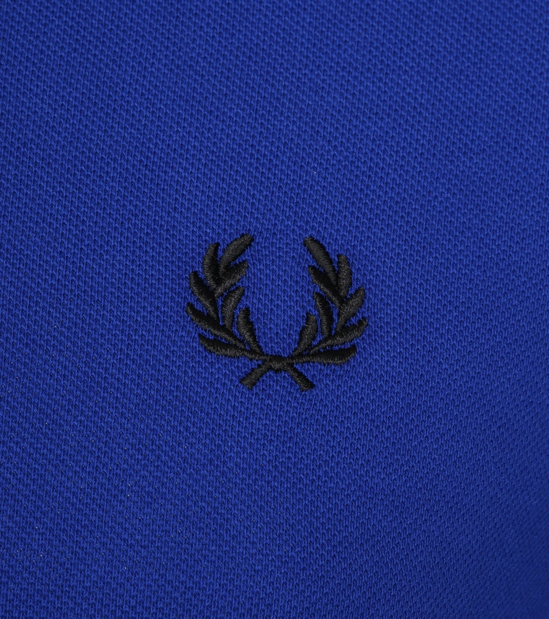 Fred Perry Poloshirt Blue I88 photo 2