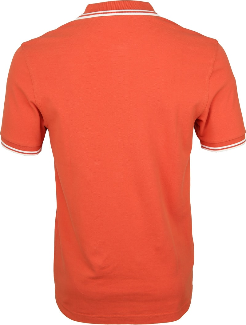 Fred Perry Poloshirt Orange G93 photo 2