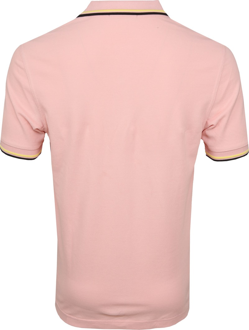 Fred Perry Poloshirt Pink 457 photo 3