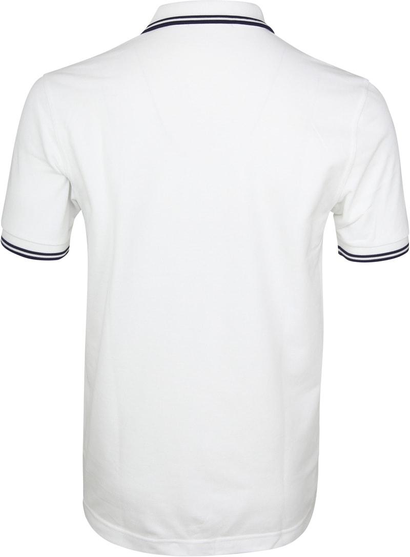 Fred Perry Poloshirt White I01 photo 2