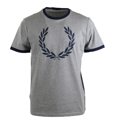 Fred Perry Shirt Grijs  online bestellen | Suitable