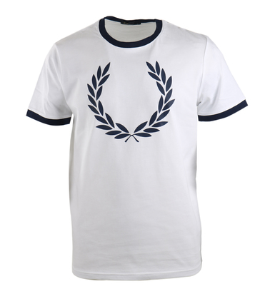 Fred Perry Shirt Wit  online bestellen | Suitable