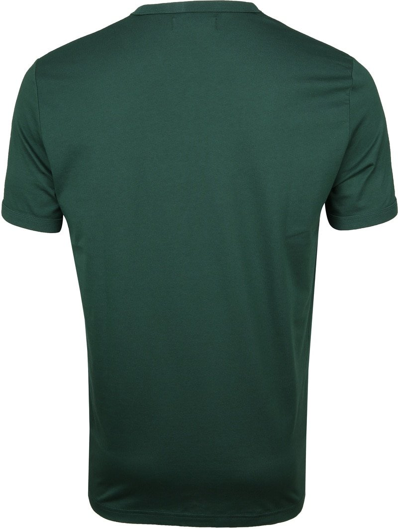 Fred Perry T-shirt Donkergroen foto 3