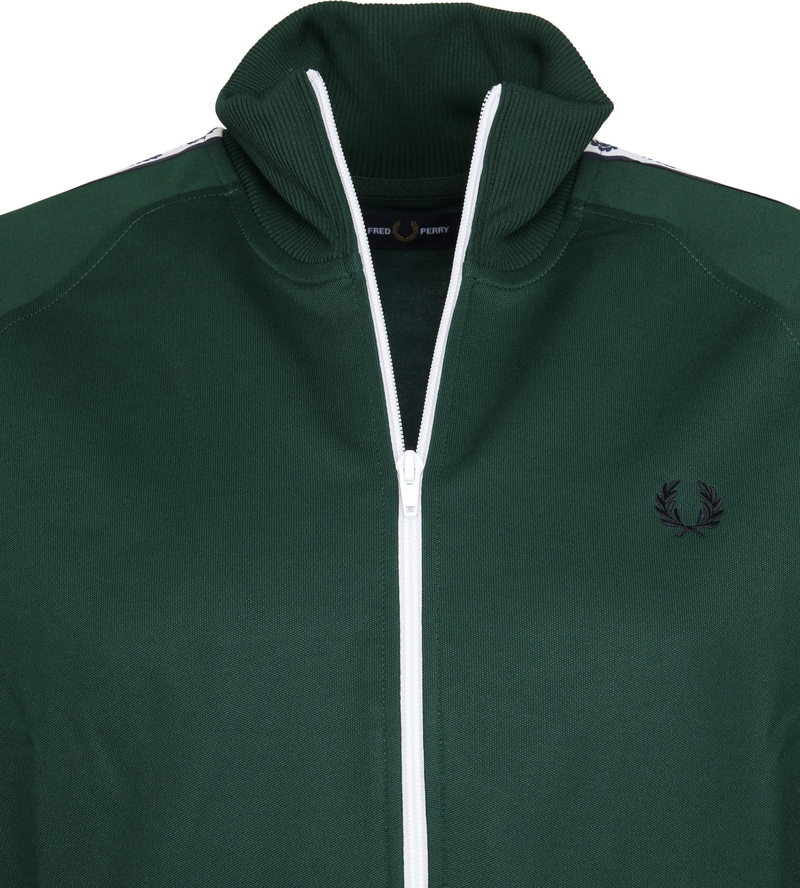 Fred Perry Taped Track Ivy Jacket Groen foto 1
