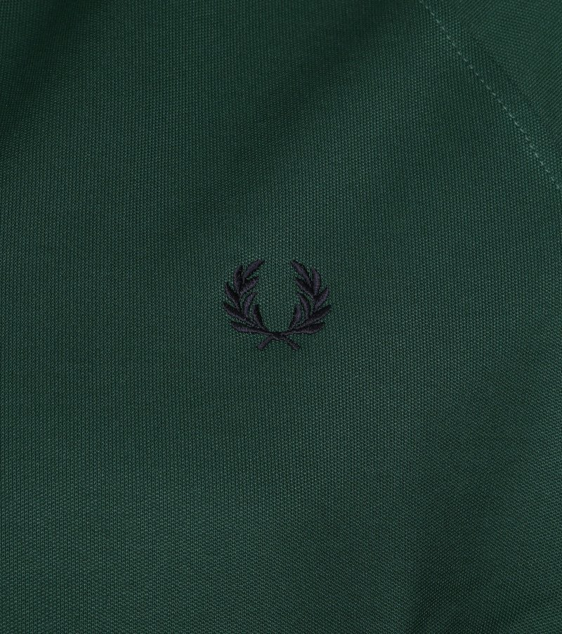 Fred Perry Taped Track Ivy Jacket Groen foto 2