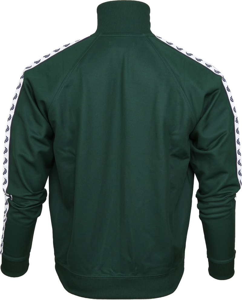 Fred Perry Taped Track Ivy Jacket Groen foto 4