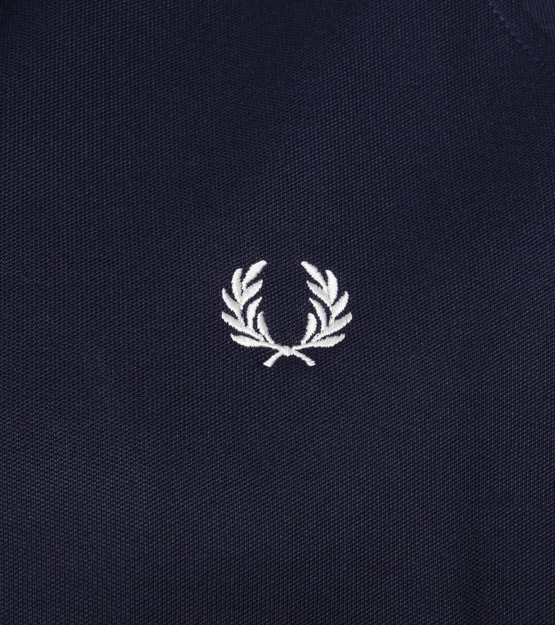 Fred Perry Taped Track Jacket Dark Blue photo 2