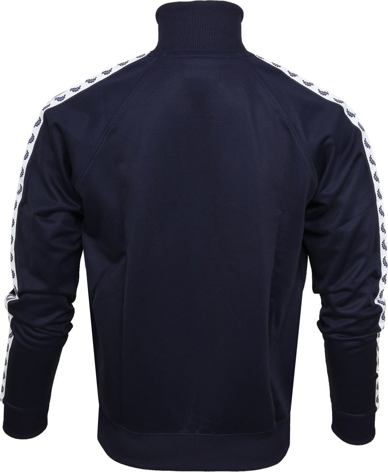 Fred Perry Taped Track Jacket Dark Blue photo 4