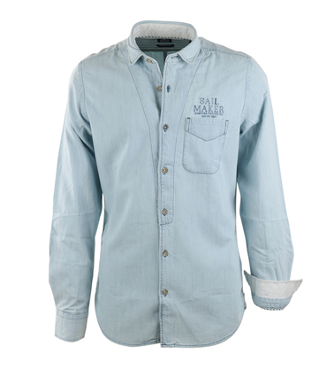 Gaastra Casual Shirt Lichtblauw  online bestellen | Suitable