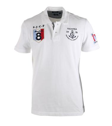 Gaastra Jonah Poloshirt Wit  online bestellen | Suitable