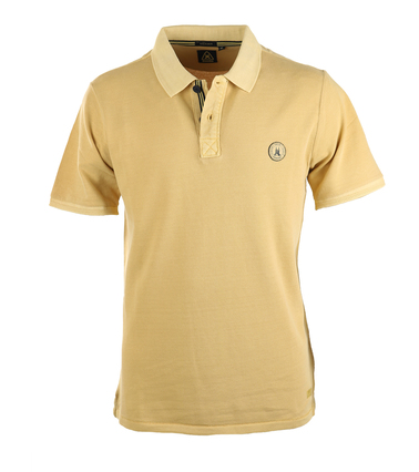 Gaastra Peak Poloshirt Geel  online bestellen | Suitable