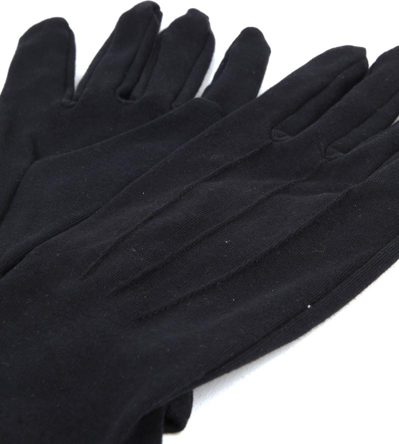 Gala Handschoen Zwart - Zwart maat L