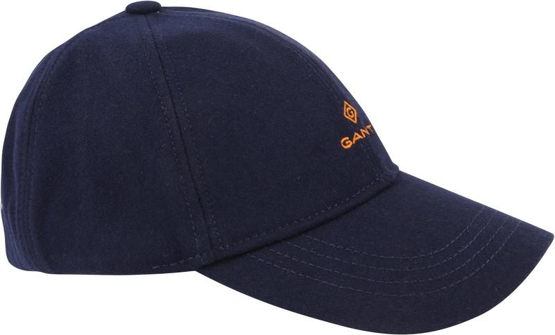 Gant Cap Melton Donkerblauw
