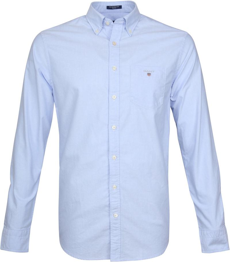 Gant Casual Hemd Oxford Lichtblauw
