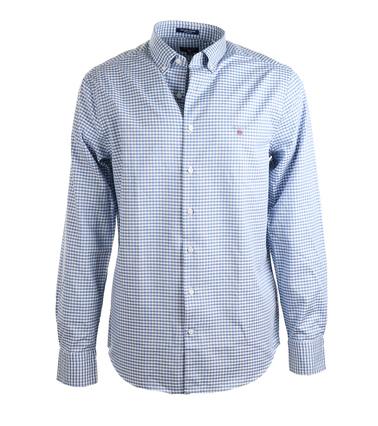 Gant Gingham Blauw  online bestellen | Suitable