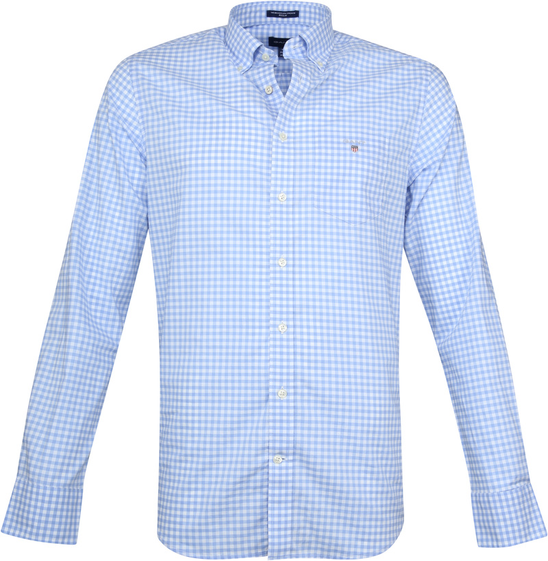 Gant Gingham Blue Check photo 0