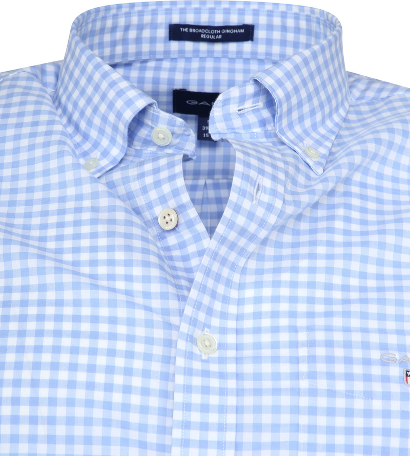 Gant Gingham Blue Check photo 1